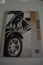 HARLEY-DAVIDSON  MOTORCYLES 2010 TRIKE BROCHURE PART#99333-10V