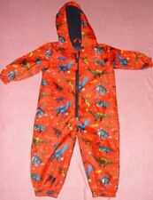 Boys Age 18-24 Months Red Dinosaur Puddle Suit George
