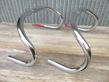 Two NITTO B123 Cr-Mo Steel NJS Handlebars, 25.4, 370, 380