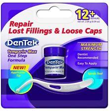DenTek Dental Temporary Tooth Filling Cement Repair Lost Fillings & Loose Caps