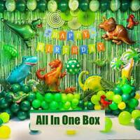 Green Dinosaur Party Balloons Kids Childrens Birthday Party Decor Supplies Hot Z