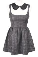 Topshop vestido señora dress vestido de verano vestido skater talla 34 (XS) multicolor