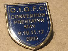 Queen Convention 2003 Official Fanclub Metal Pin Badge