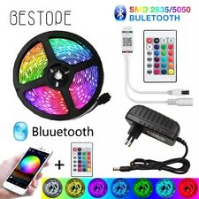 Bande LED Ruban LED RGB 5050 Décoration Flexible Télécommande Bluetooth 5M-30M
