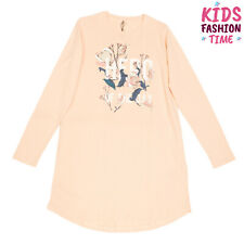 Name It Tunic Dress Size 9-10Y 134-140Cm Coated Front Long Sleeve