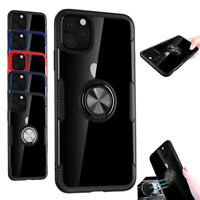 For iPhone 11 / 11 Pro / 11 Pro Max 2019 Magnetic Impact Case with Stand Holder