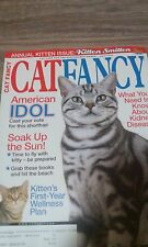 Cat Fancy Magazine, American Idol Shorthair, Kidney Disease, July 2003
