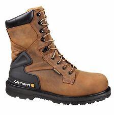 """Men's 8"""" Bison Brown Waterproof Work Boot - CMW8100"""