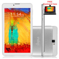 "Slim 7"" Factory Unlocked GSM + 4G Android 9.0 Tablet PC Smart Phone WiFi Google"