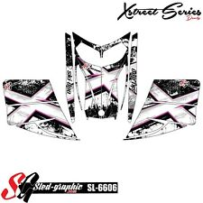 SLED WRAP DECAL STICKER GRAPHICS KIT FOR SKI-DOO REV MXZ SNOWMOBILE 03-07 SL6606