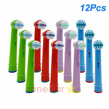 12x Kids Replacement Brush Heads For Oral B EB-10A Pro-Health Stages Oral Care