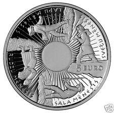 5 EURO 2014 Latvia silver coin the year round sun feast  Christmas time Seasons