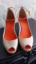 Vivienne Westwood MELISSA PATCHULI Zeppa Peep Toe-Uk 6.5 Euro 40 ridotto