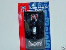 NFL Tampa Bay Buccaneers Ceramic Light Switch Plate, NEW