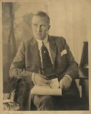 William Desmond Taylor rare signed photograph. Lot 163