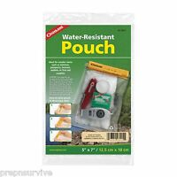 """WATERPROOF POUCH, 5 X 7""""-CELL SMART PHONE SMALL ELECTRONICS SURE TRIPLE WRAP!"""