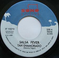 """7"""" Salsa Fever-Tan enamorado/te vas a saciar de Mi-Sono Latin Records"""