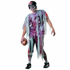 Hommes Fin zone Zombie Costume Halloween Fancy Dress Outfit Adult Taille standard