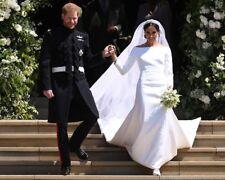 Royal Wedding Harry and Meghan Markle Steps 10x8 Photo