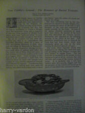 Tom Tiddlers Ground Buried Treasure Find Beaworth Hexham Antique Article 1896