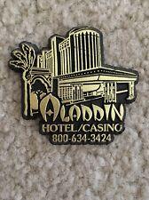 "Vintage/Collectible/Rare Kitchen Refrigerator Magnet ""Aladdin""Hotel Casino""Vegas"