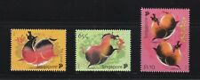 SINGAPORE 2014 ZODIAC YEAR OF HORSE COMP. SET OF 3 STAMPS IN MINT MNH UNUSED