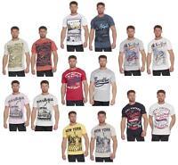 Mens Cargo Bay American Design Cotton T-Shirt