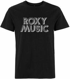 Roxy Music 'Retro Logo' T-Shirt