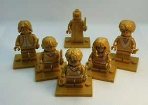 Harry Potter LEGO 20th Anniversary Golden MINIFIGURE. PICK YOUR LEGO MINIFIGURE
