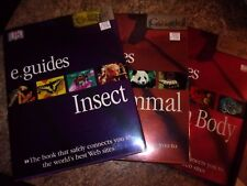 Lot of three Dk E.guides google - Insect Mammal Human Body - Lotf