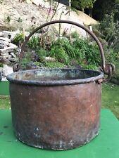 Vintage Copper Tub Bucket Garden Planter French Display