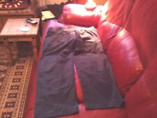 """BNWT  """"REEBOK""""  ATHLETIC PANTS,SIZE 18  NAVY,SHORT LENGTH,ZIPS TO ANKLES"""