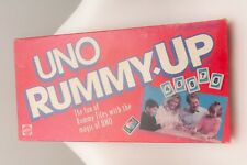Vintage 1993 Mattel UNO Rummy Up Tiles Game Complete in Box