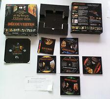 Découvertes un voyage encyclopedique 3D BigBang au XXI siècle PC/MAC FR big box