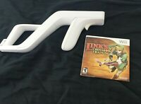 Links Crossbow Training And Zapper (Nintendo Wii) Tested & Working