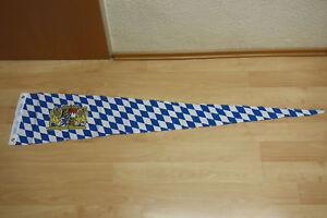 Fahne Flagge Bayern Lion Wimpel Neu - 30 x 150 cm