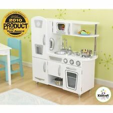 KIDKRAFT WHITE VINTAGE CHILDREN'S TOY WOODEN KITCHEN - KIDS PRETEND PLAY GIFT