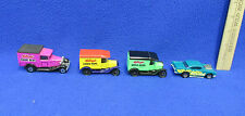 Matchbox Kelloggs Cereal Delivery Trucks & Hotwheels Malt O Meal Car Lot of 4