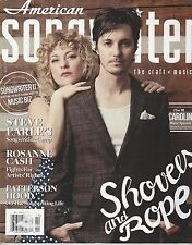 SEPT/OCT 2014 AMERICAN SONGWRITER magazine - SHOVELS AND ROPE - STEVE EARLE