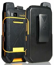 Holster for Sonim XP7 Nakedcellphone Black Rotating/Ratchet Belt Clip Case wi...