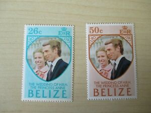 BELIZE - 43 STAMPS - 1973, 1980, 1982 AND 1984