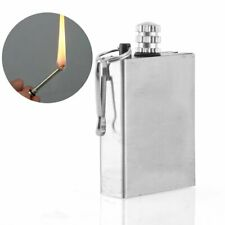 Instant Survival Magnesium Fire Starter Matches Camping Flint Keychain Lighter