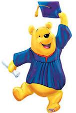 "Disney Winnie The Pooh Graduation Mylar Foil Balloon 35"" Jumbo Size Super Shape"