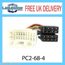 PC2-68-4 Suzuki Swift Jimny ISO Stereo Head Unit Harness Adaptor Wiring Lead