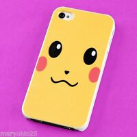 L3X New Colorful Pikachu Back Skin Hard Cover Case for Apple i-phone 4 4S 4G G S