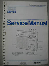 Philips 90 AL680 Kofferradio Service Manual