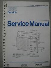 Philips 90 AL680 Kofferradio Service Manual