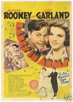 Babes in arms Judy Garland Rooney #2 movie poster