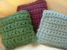 Crocheted Pillow Catnip Toys-100% Organic-lot of 3