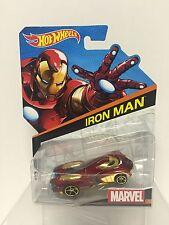 Hot Wheels Marvel # 1 Iron Man Die-cast BDM74